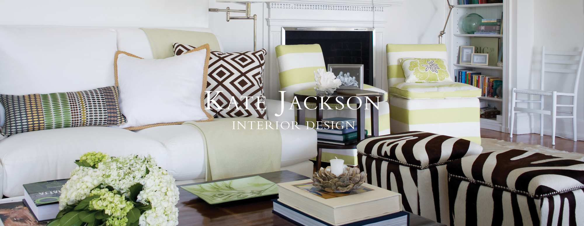 interior designed homes.  Kate Jackson